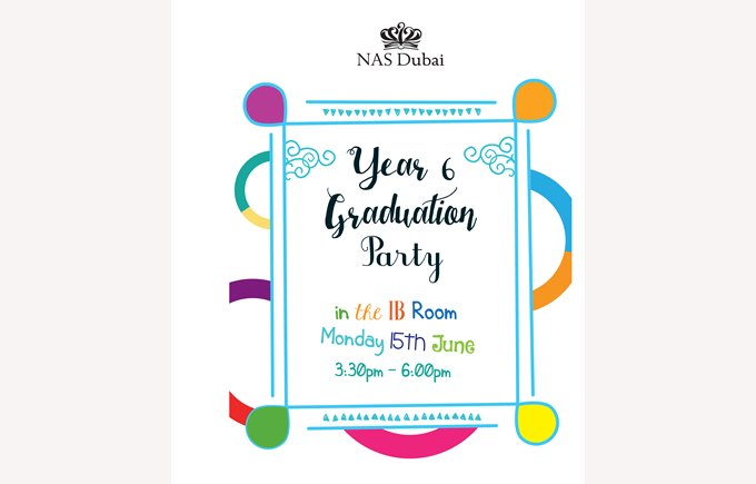 Year 6 Graduation Party - 15th June