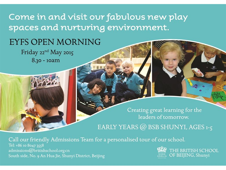 EYFS Open Morning 1-5