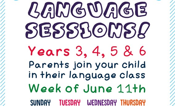 Come and Learn Language Sessions!