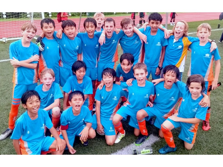 DCIS Under 11 Boys Division 2 and 3 Football Teams