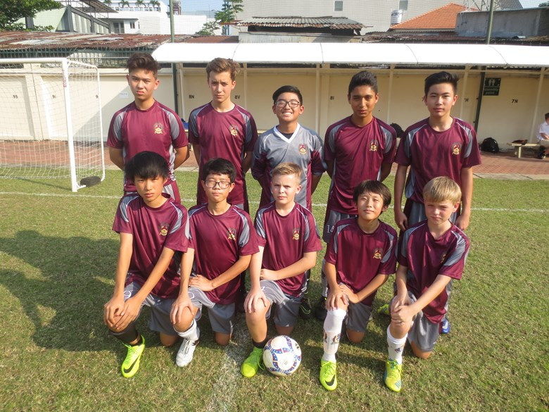 U14A Boys Football at British International School HCMC - Match Reports 13/02/17