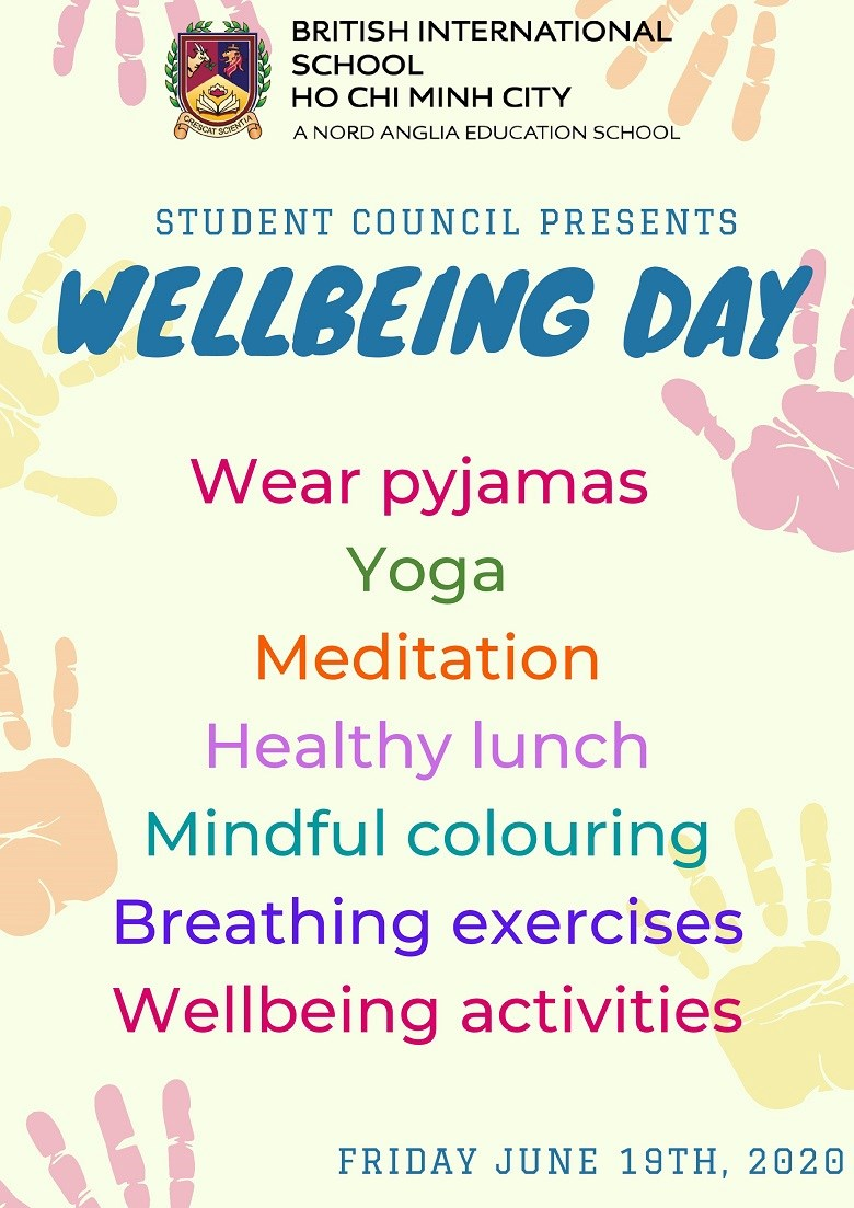 Wellbeing Day poster