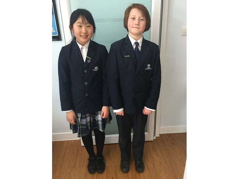 Gaby and George, Primary Head Students