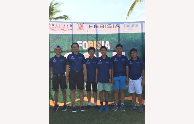 British International School Hanoi FOBISIA Golf Tournament 2017