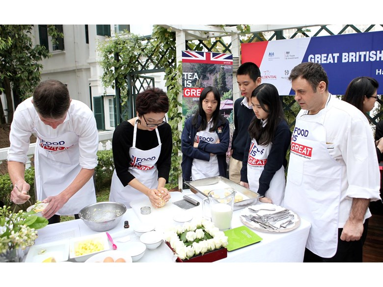 British International School Hanoi Great British Bake Off (6)