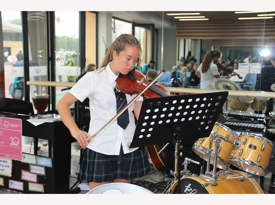 10 Hours of Music at the British International School Shanghai, Puxi campus