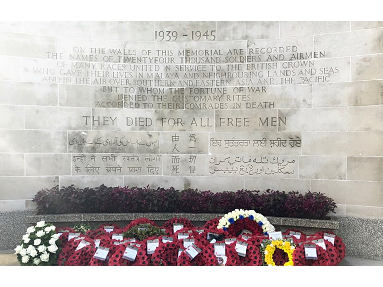 Remembrance Day Service at Kranji War Memorial