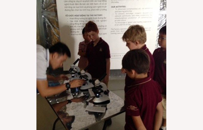 BIS Ho Chi Minh Year 5 and 6 visit a Art anf Science exhibit - 11