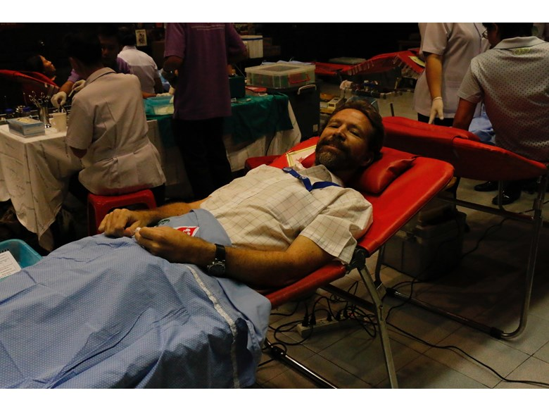 St. Andrews International School Community Blood Drive 2015