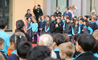 Students at the British International School Shanghai, Puxi mark Remembrance Day
