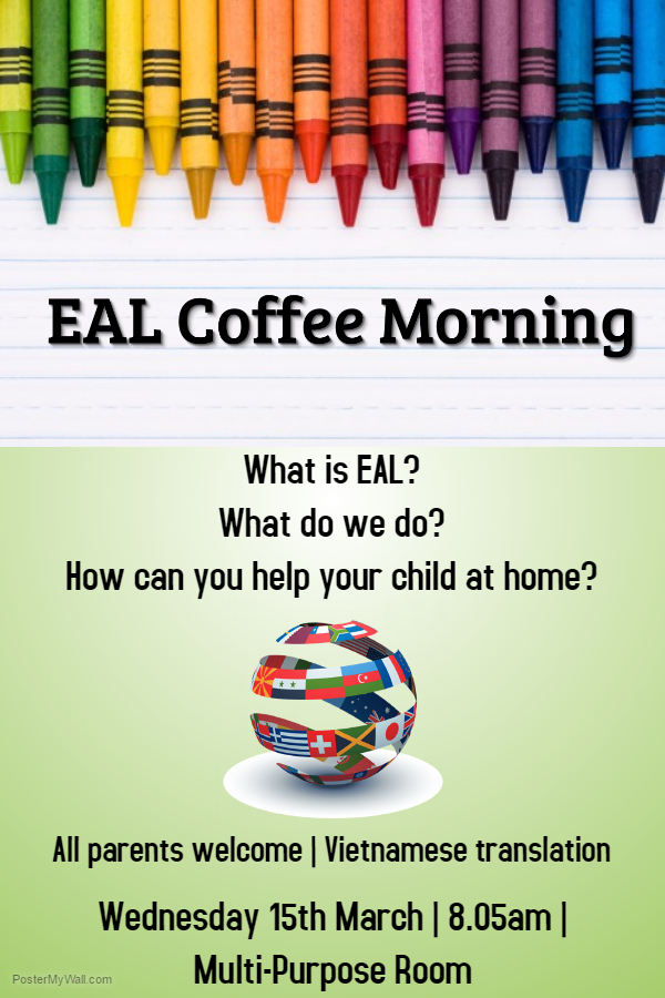 EAL Coffee Morning (2) flyer