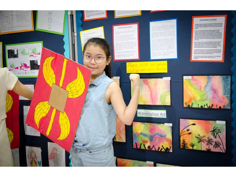 Britist International School Hanoi - Phase 3 Exhibition
