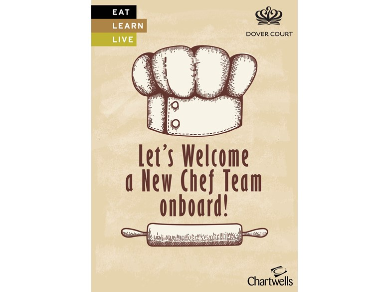 Chartwells New Chef on Board