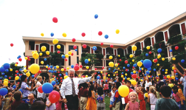 History of BIS HCMC Opening of An Phu Primary