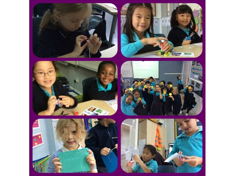 Making and creating in Year 1