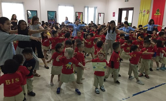Britist International School Hanoi - EYC assembly