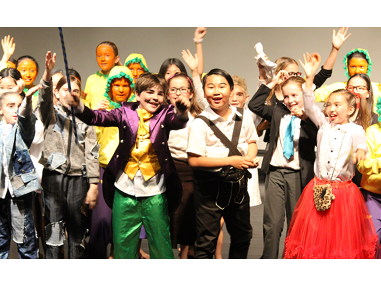 Primary students at the British International School Shanghai, Puxi delight audiences with Charlie and the Chocolate Factory