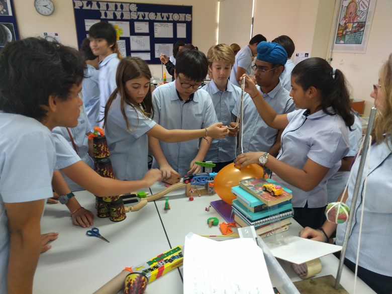 Boarding school and day school students take part in Global Campus | Regents International School Pattaya