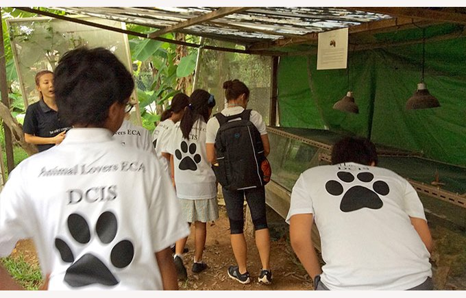 Animal Lovers ECA visit ACRES