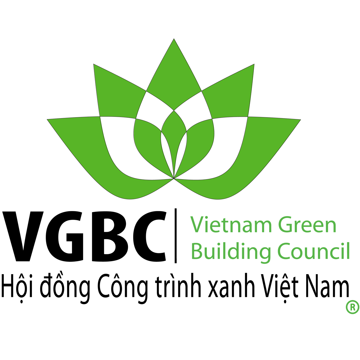 Green Lotus Logo Square
