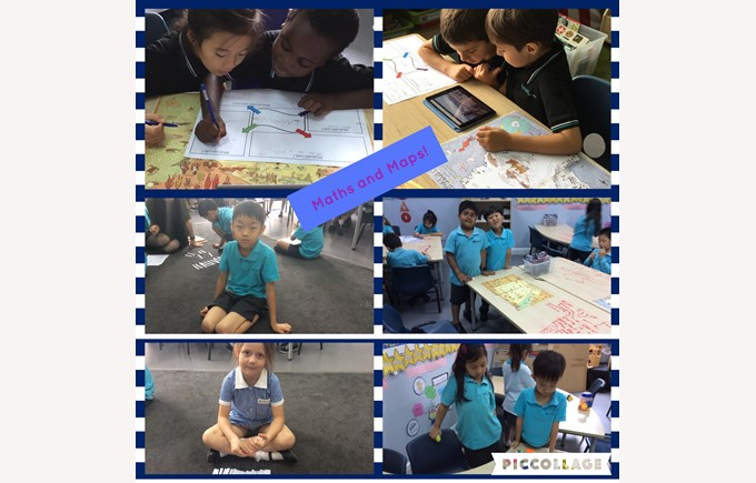 Year 1 enjoy Maths and Maps