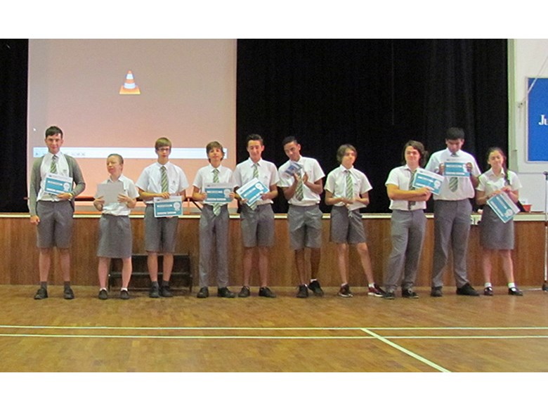 Secondary Assembly: Year 11 Graduates