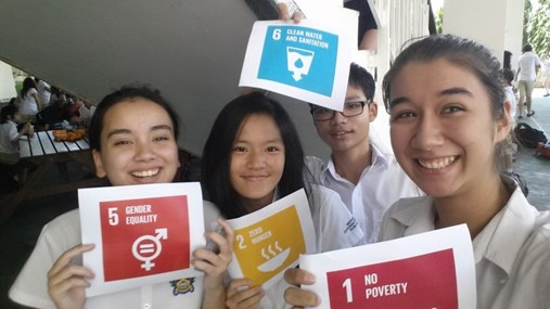 Global Goals Selfie