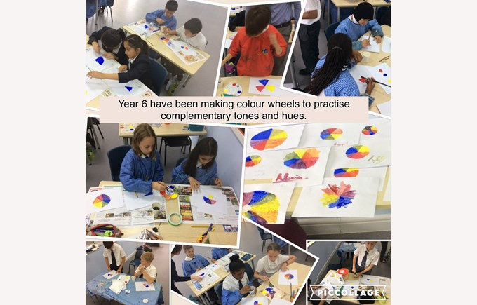 Being artists in Year 6