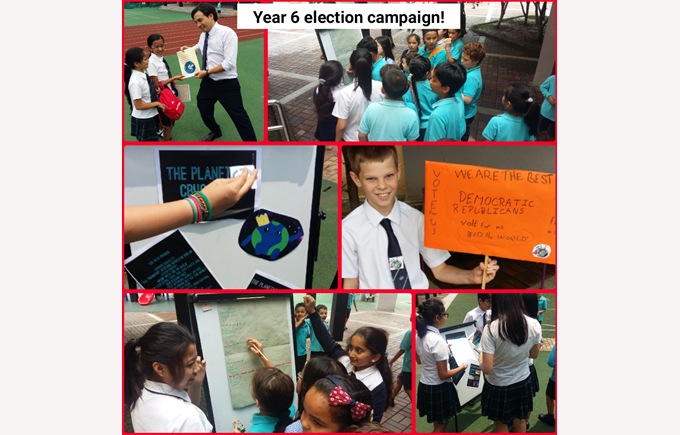 Year 6 Election Campaign