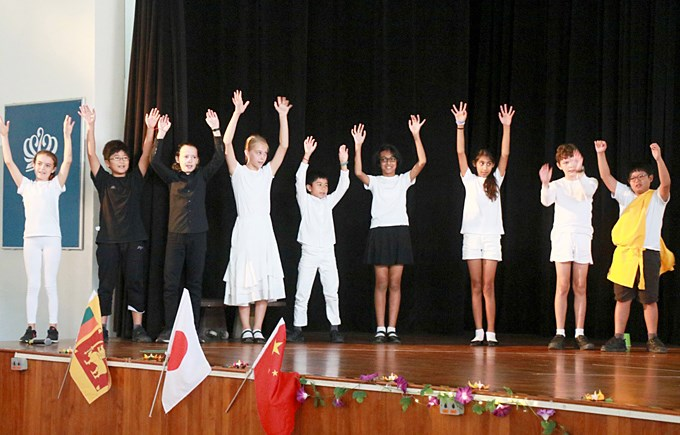 Upper Primary School Assembly: Vesak Day by 6JO and 6HM