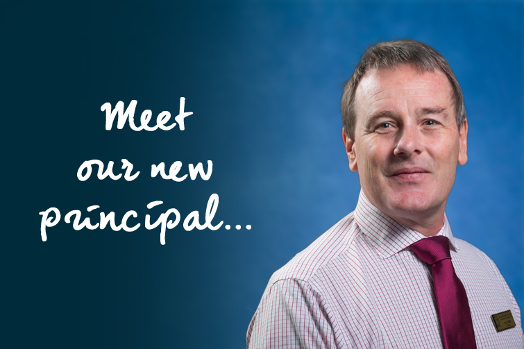Meet Tim Deyes, our new principal