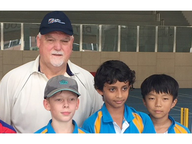 DCIS U11 Lions Cricket Team Coached by Mike Gatting