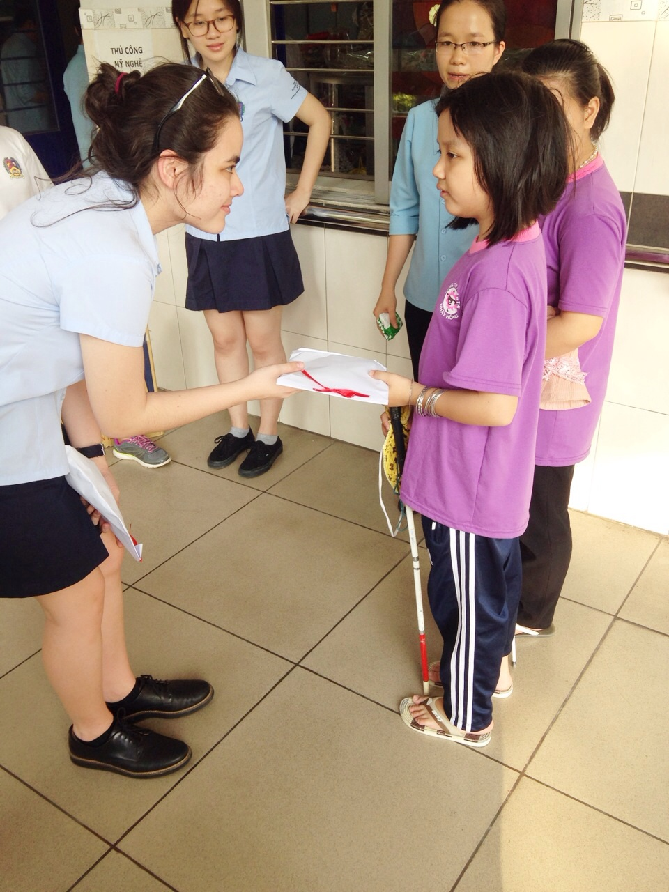 Books for the Blind Club – Term Reflection BIS HCMC 1