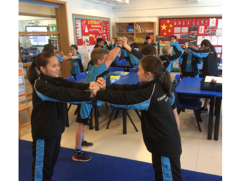 Year 5 get forceful!