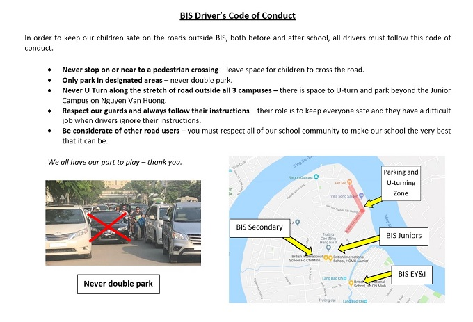 Drivers Code of Conduct
