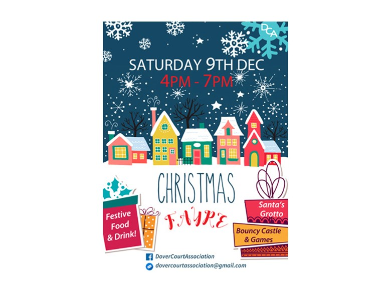DCA Christmas Fayre 2017 Poster