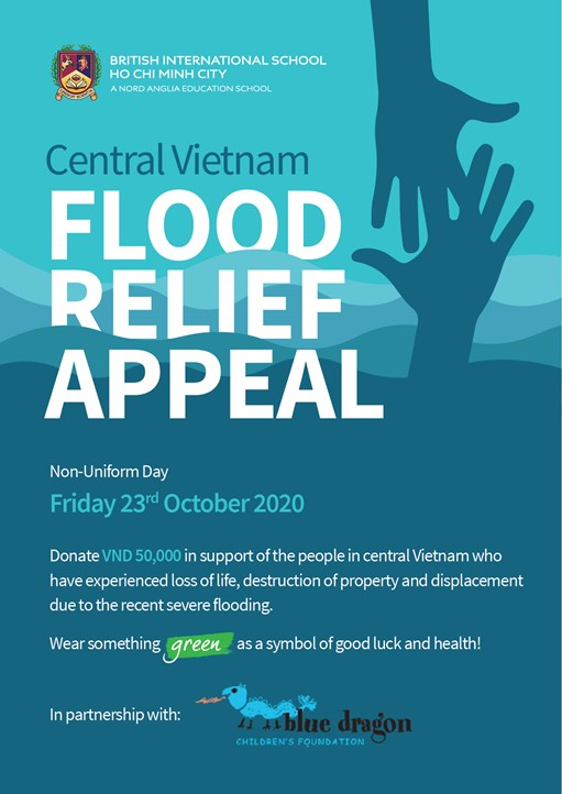 Flood Relief Appeal Poster