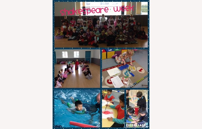 Shakespeare Week in Reception