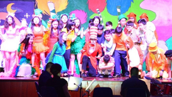 The Premier of Seussical8