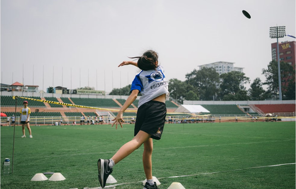 BIS HCMC Secondary Sports Day - Discus