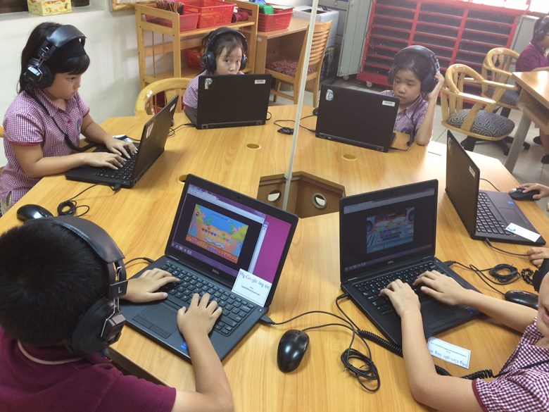 Learning Through Technology at BIS HCMC5