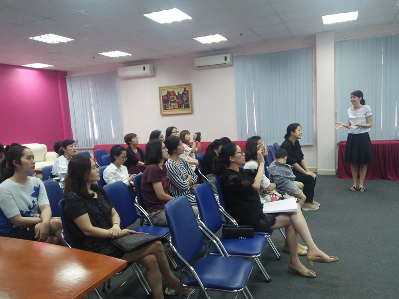 Britist International School Hanoi - EAL workshop