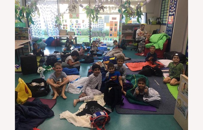 Year 2 Sleepover Update