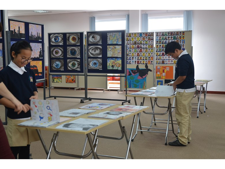 KS3 Art Exhibition 3
