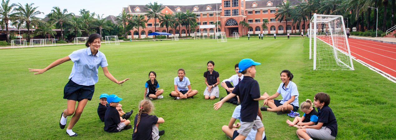 Relaxing at British boarding school | Regents International School Pattaya