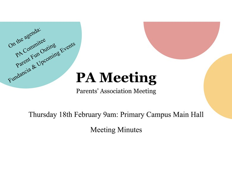 PA Meeting Minutes_18 Feb 2016