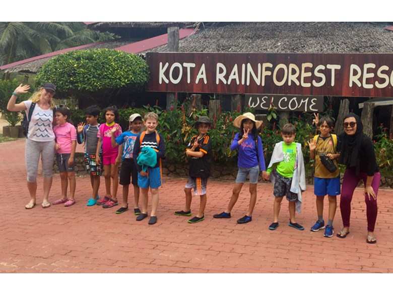 Year 4 Residential Trip to Kota Rainforest Group 2