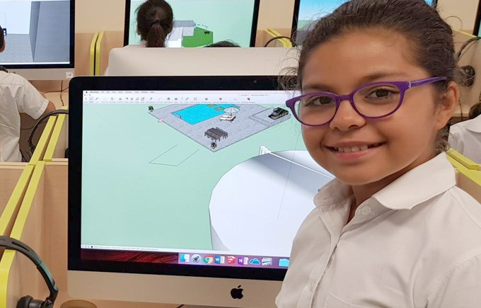 DCIS Students Design Fantastic Homes of the Future