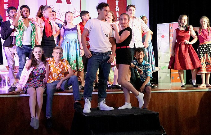 Grease Dress Rehearsal 26th March