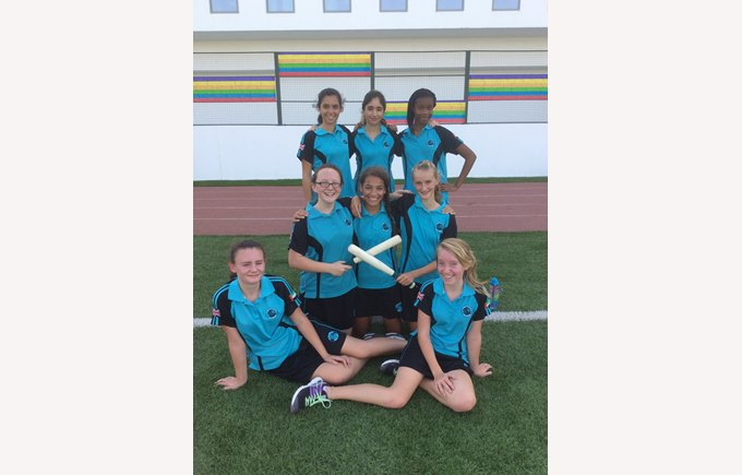 U14 Girls Rounders Team Game 1